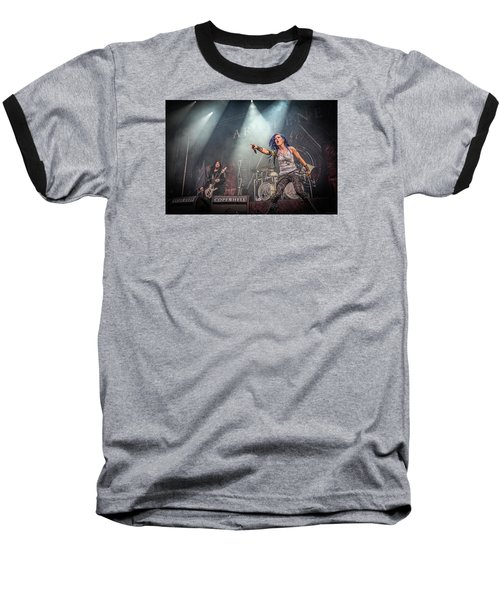 Baseball T-Shirt featuring the photograph Arch Enemy by Stefan Nielsen