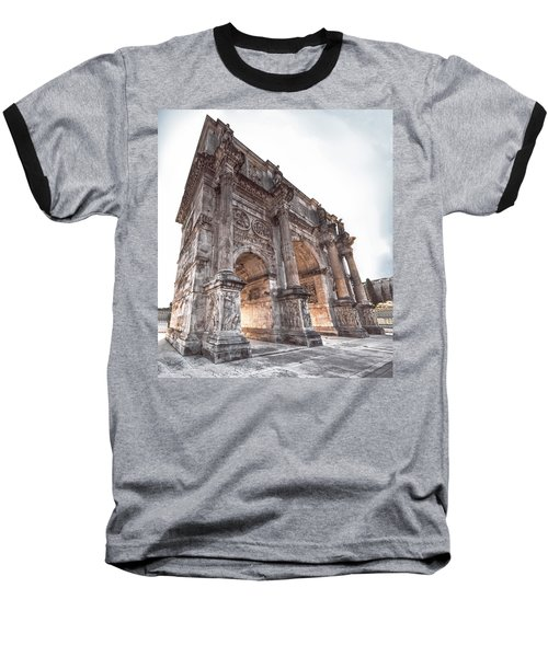 Arch Of Constantine Baseball T-Shirt