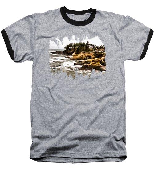 Arch Rock Depoe Bay Baseball T-Shirt