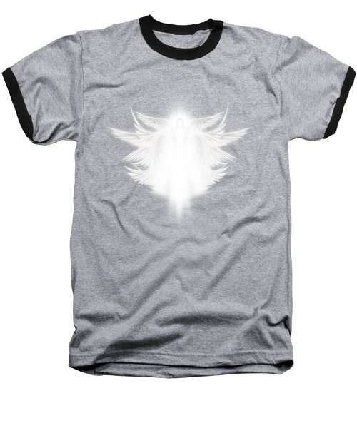Archangel Baseball T-Shirt by James Larkin