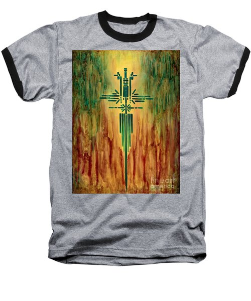 Archangel Michael Baseball T-Shirt