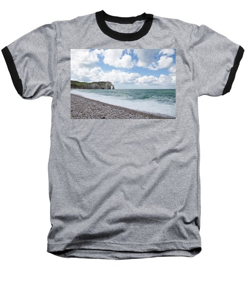 Arch At Etretat Beach, Normandie Baseball T-Shirt by Yoel Koskas