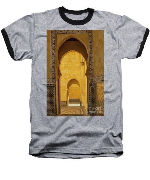 Arched Doors Baseball T-Shirt