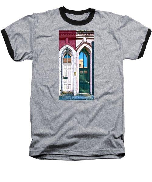050 - Door One And Door Too Baseball T-Shirt