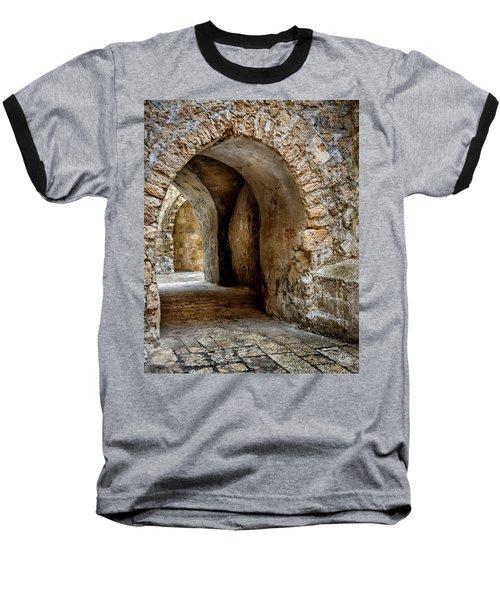 Arched Walkway Baseball T-Shirt
