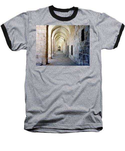 Arched Walkwayat A Church In Florence Italy Baseball T-Shirt