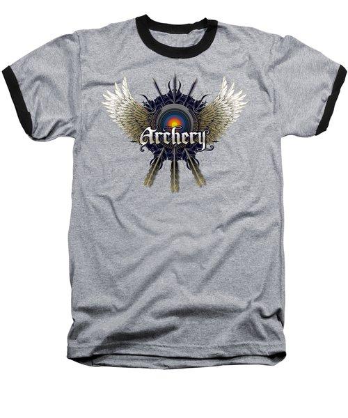 Archery Wings Baseball T-Shirt