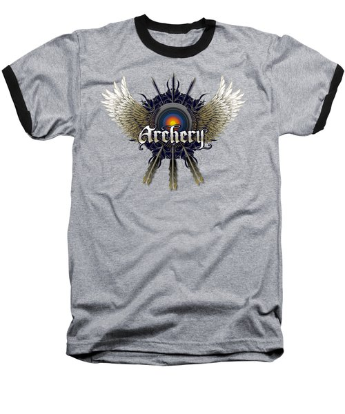 Archery Wings Baseball T-Shirt