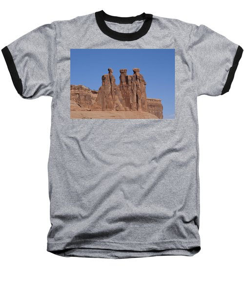 Arches National Park Baseball T-Shirt by Cynthia Powell
