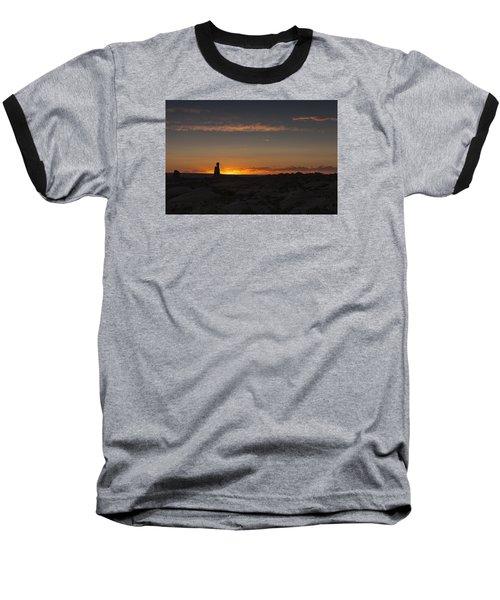 Arches National Park Sunset Baseball T-Shirt