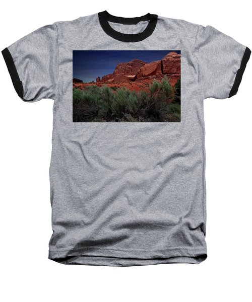 Arches Scene 3 Baseball T-Shirt