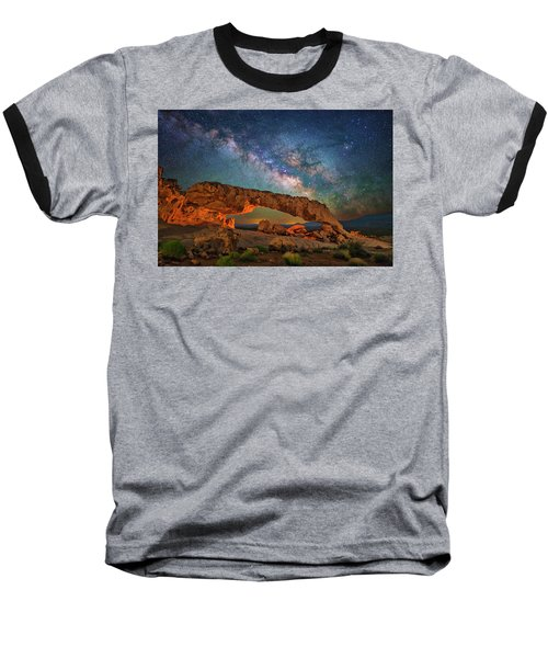 Arching Over The Arch Baseball T-Shirt