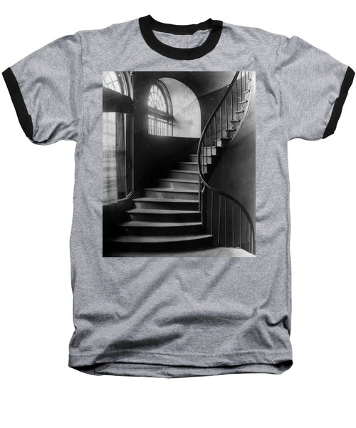Arching Stairwell Baseball T-Shirt
