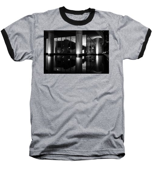 Architectural Reflecting Pool 2 Baseball T-Shirt