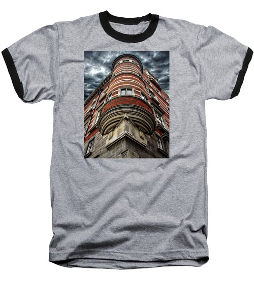 Architectural Wonder Baseball T-Shirt