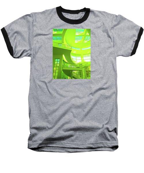 Green Splash Architecture Baseball T-Shirt