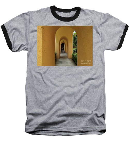 Baseball T-Shirt featuring the photograph Archway by Gary Wonning