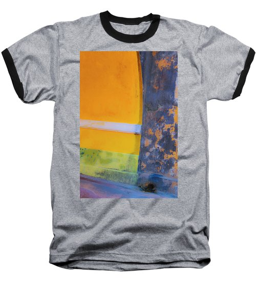 Archway Wall Baseball T-Shirt by Stephen Anderson