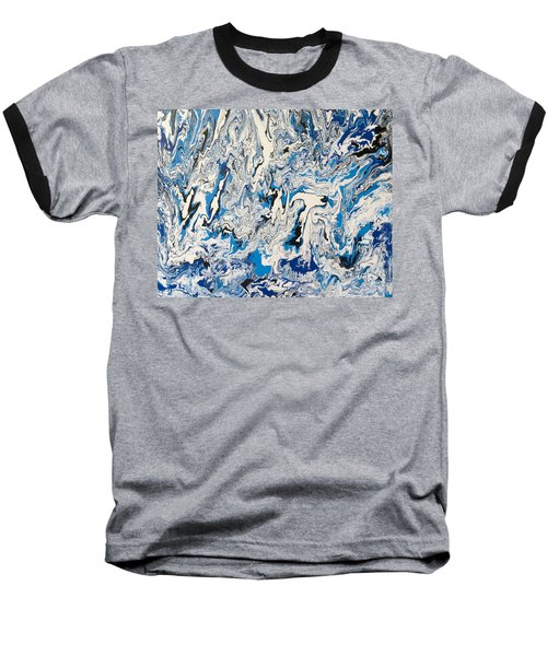 Arctic Frenzy Baseball T-Shirt by Teresa Wing