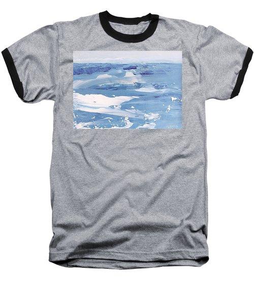 Arctic Ocean Baseball T-Shirt