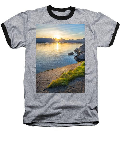 Baseball T-Shirt featuring the photograph Arctic Sunrise by Maciej Markiewicz