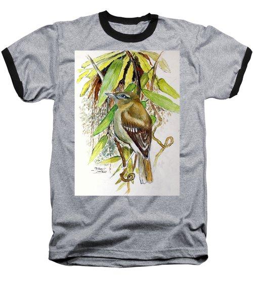 Arctic Warbler Baseball T-Shirt