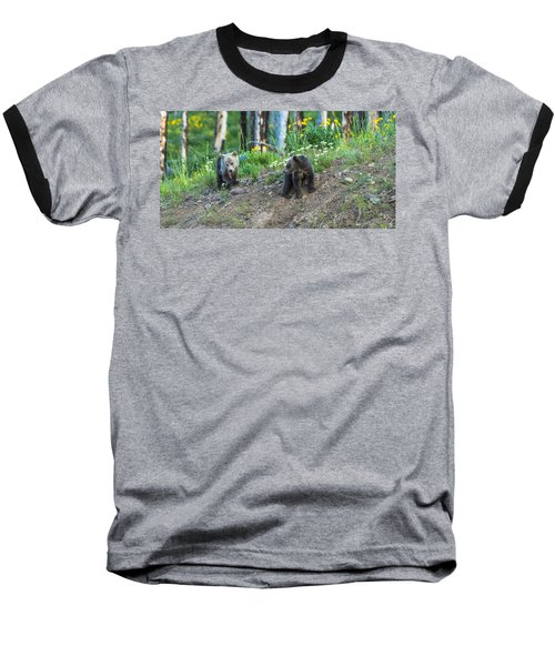 Baseball T-Shirt featuring the photograph Are You Coming With Me by Yeates Photography