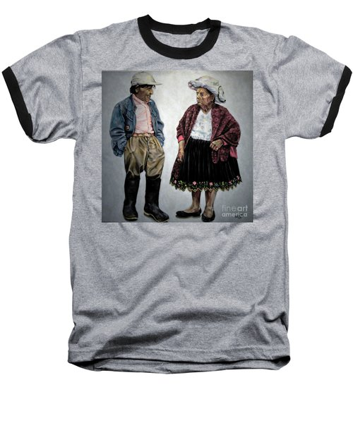 Are You Going To Town Like That? Baseball T-Shirt