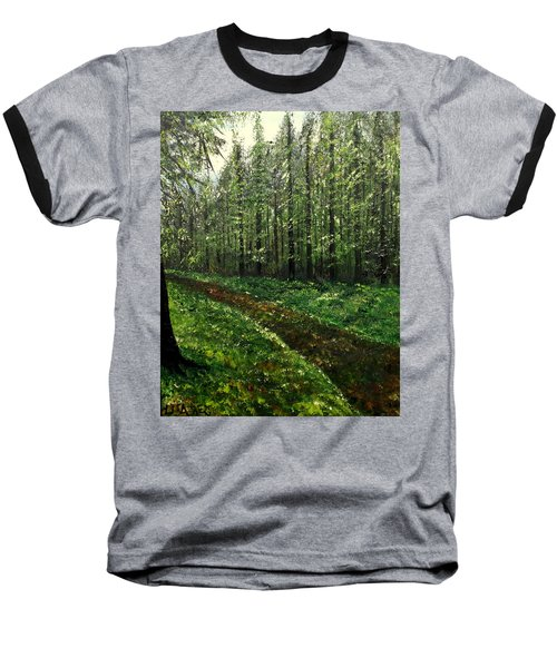 Are You Leaving Baseball T-Shirt by Lisa Aerts