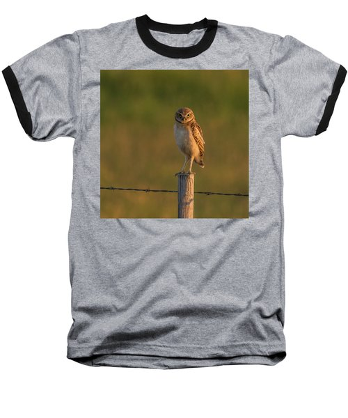 Are You Listening To Me Baseball T-Shirt