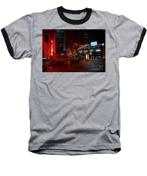 D66l-4 Arena District Photo Baseball T-Shirt