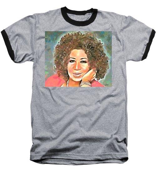 Aretha Franklin Baseball T-Shirt