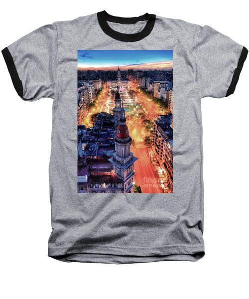 Argentina National Congress Baseball T-Shirt