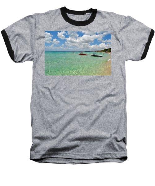 Argostoli Greece Beach Baseball T-Shirt