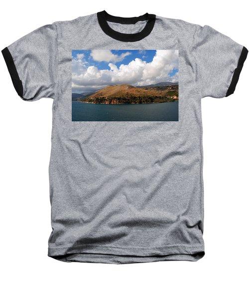 Argostoli Greece Baseball T-Shirt by Robert Moss