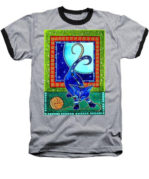 Aries Cat Zodiac Baseball T-Shirt