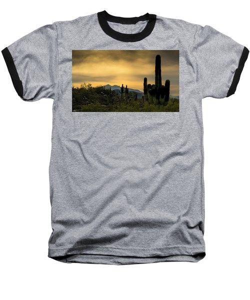 Arizona And The Sonoran Desert Baseball T-Shirt