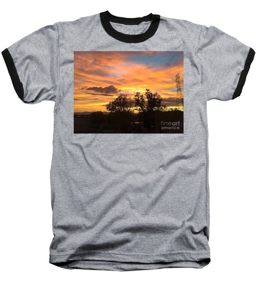 Arizona Awesome Baseball T-Shirt by Anne Rodkin