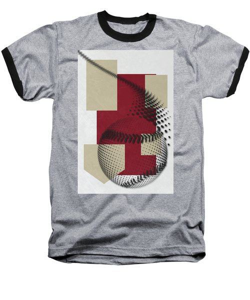 Arizona Diamondbacks Art Baseball T-Shirt by Joe Hamilton