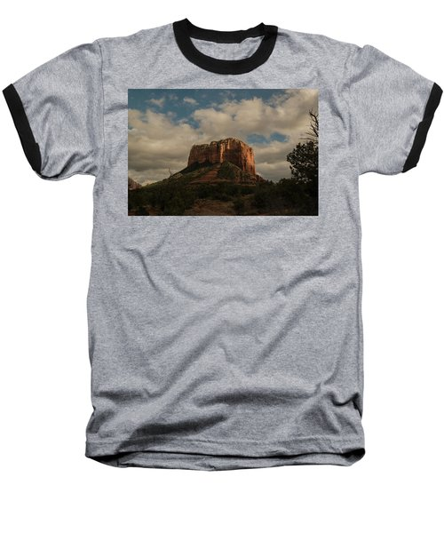 Arizona Red Rocks Sedona 0222 Baseball T-Shirt by David Haskett