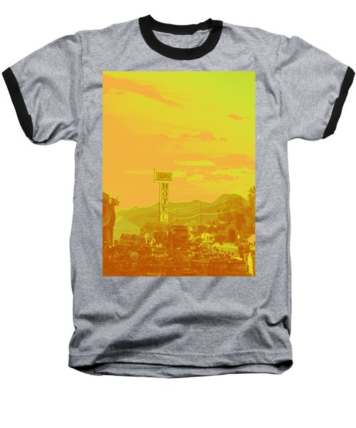 Baseball T-Shirt featuring the photograph Arizona Road I by Carolina Liechtenstein