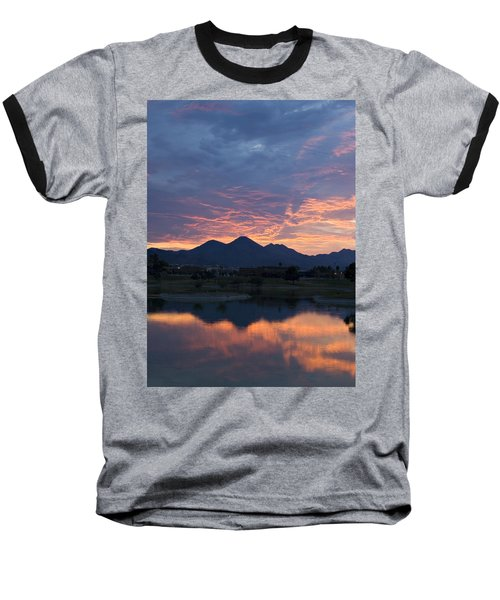Arizona Sunset 2 Baseball T-Shirt
