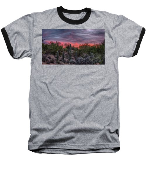 Arizona Sunset Baseball T-Shirt