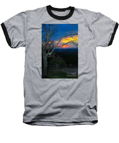 Arkansas Sunset II Baseball T-Shirt