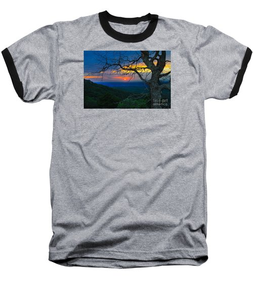 Arkansas Sunset Baseball T-Shirt