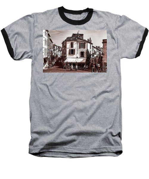 Arles, France, In Sepia Baseball T-Shirt
