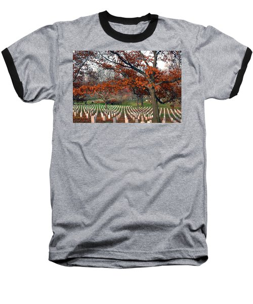 Arlington Cemetery In Fall Baseball T-Shirt