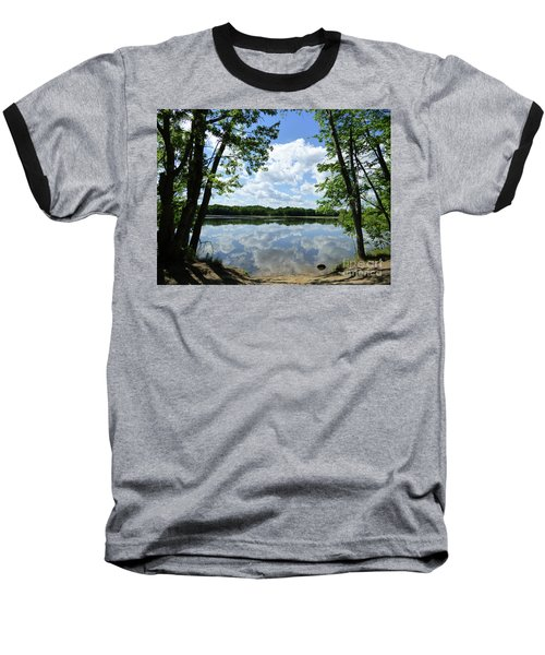 Arlington Reservoir Baseball T-Shirt
