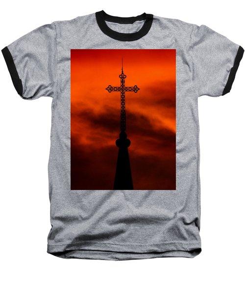 Armageddon The Wrath Of Hurricane Irma Baseball T-Shirt