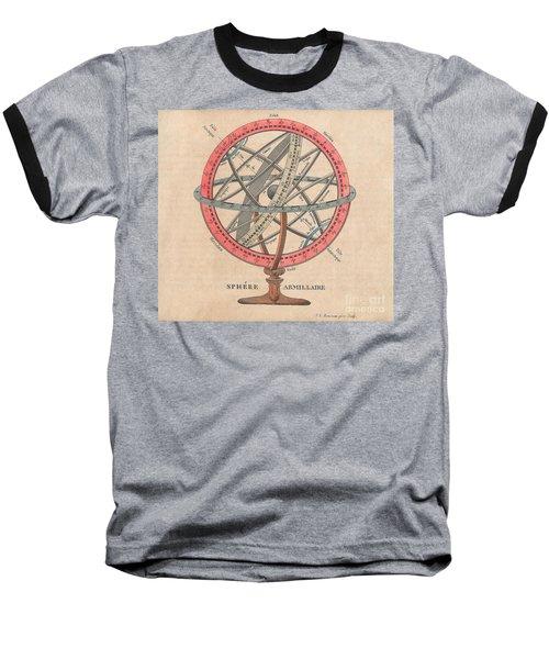 Armillary Sphere  Baseball T-Shirt